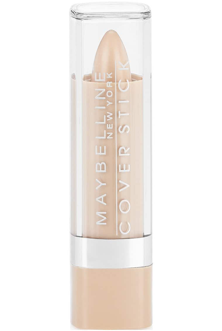 Maybelline New York Cover Stick Concealer, 0.16 Ounce: Ivory, Green 195, Light or Medium Beige, $2.09 AC or less - FS w/ S&S