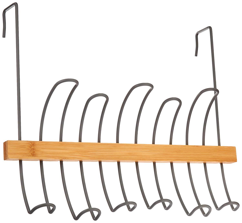 AmazonBasics Over-the-Door Hanger - Curved Hooks  $6.58 FS w/ Prime