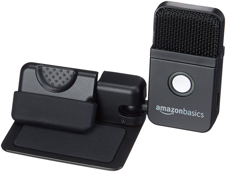 AmazonBasics Portable USB Condenser Microphone $6.28 FS w/  Prime