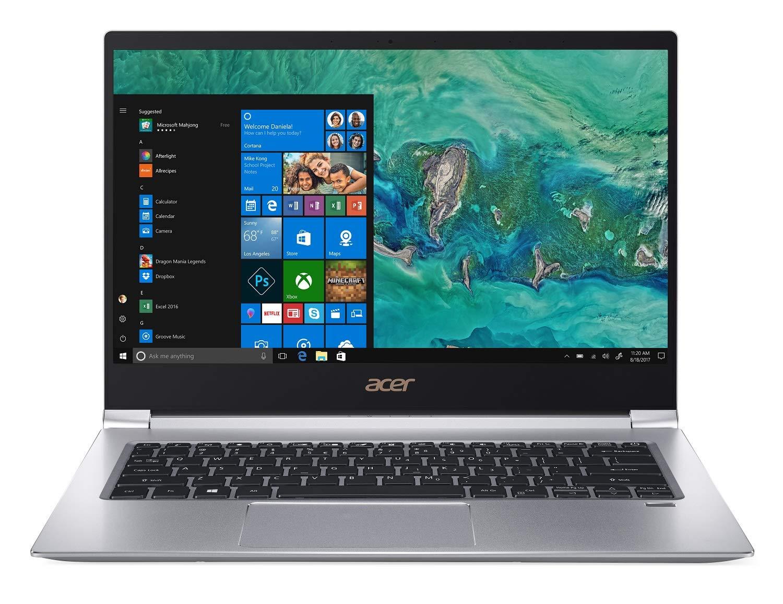 "Acer Swift 3 Laptop, 8th Gen Intel Core i7-8565U, NVIDIA GeForce MX150, 14"" Full HD, 8GB DDR4, 256GB PCIe SSD, Gigabit WiFi, Back-lit Keyboard, Windows 10 $550 Free Shipping"