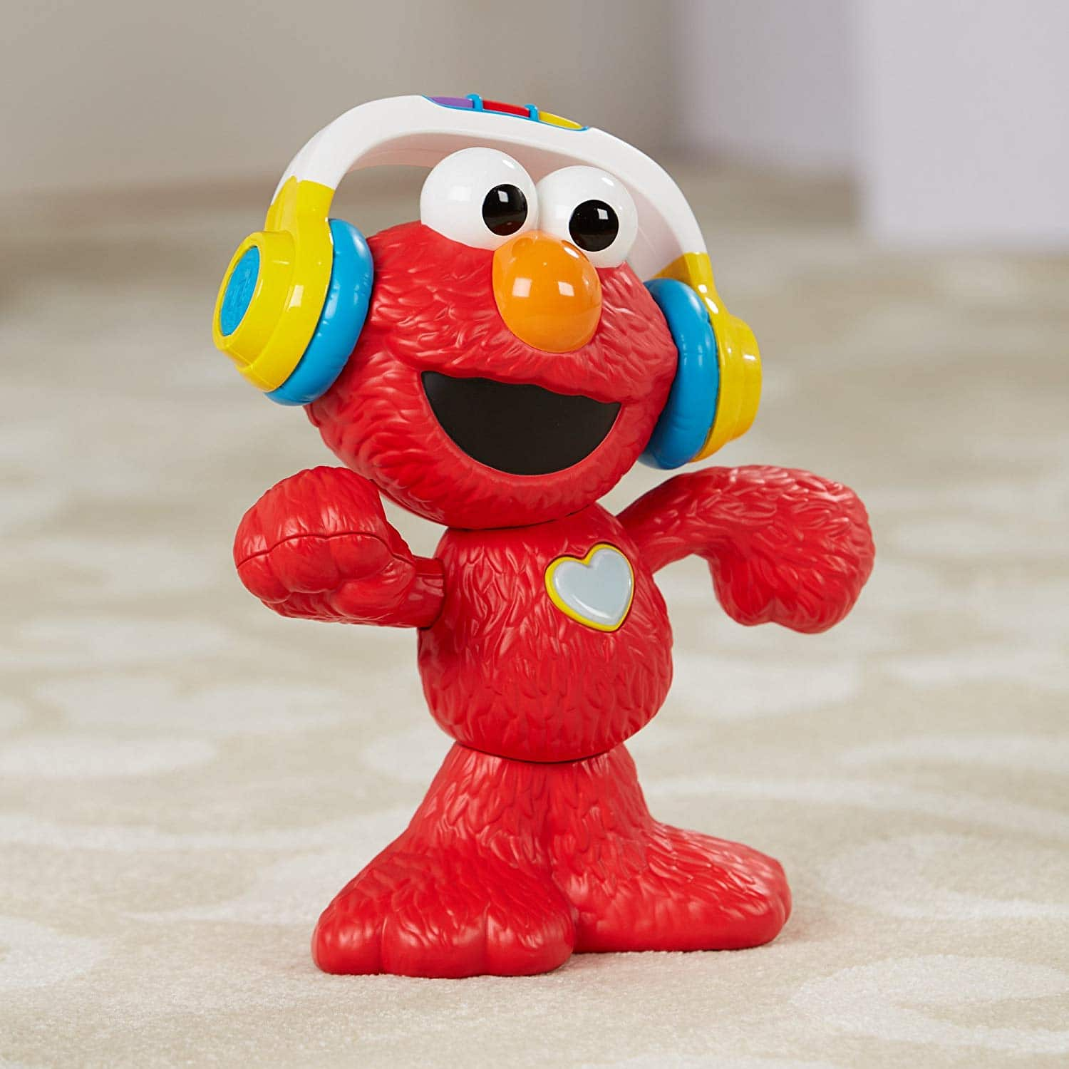 Sesame Street Let's Dance Elmo: 12-inch Elmo Toy that Sings and Dances, With 3 Musical Modes, Sesame Street Toy for Kids $19.99 Free Shipping