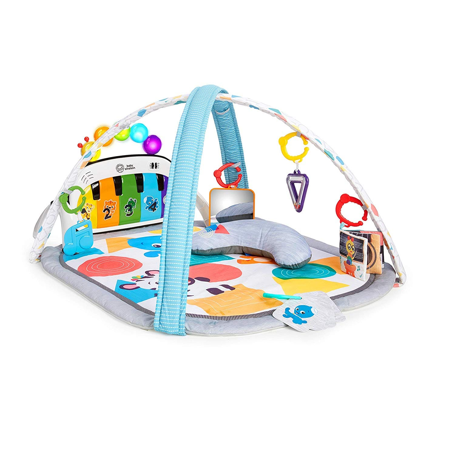 Baby Einstein 4-in-1 Kickin' Tunes Music and Language Discovery Activity Play Gym $29.74 FS w/ Prime