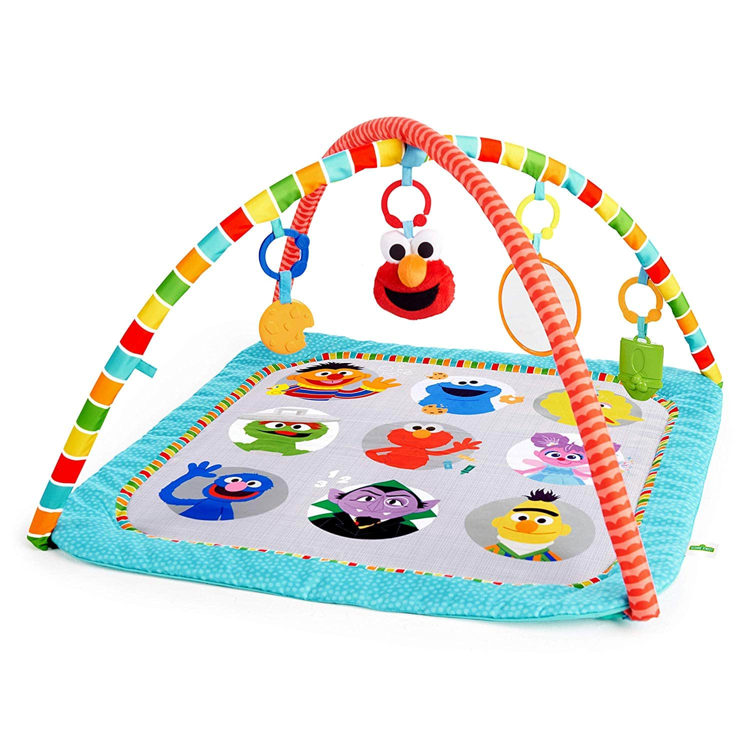 Bright Starts Fun with Sesame Street Friends Activity Gym $17.49 FS w/ Prime
