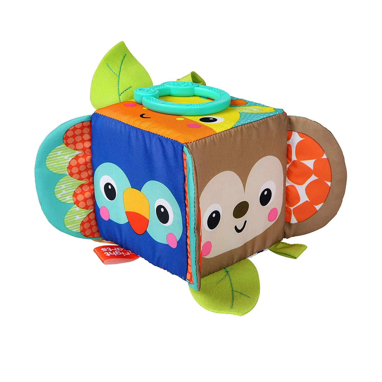 Bright Starts Hide & Peek Block Toys Activity Block for Babies $3.29 Fs w/ Prime