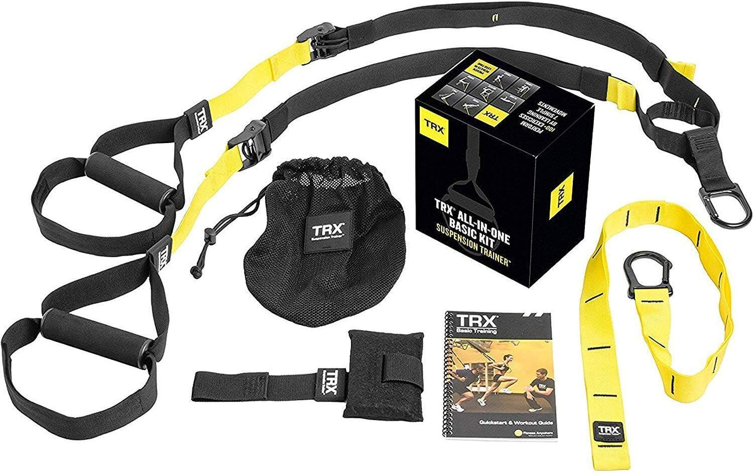 TRX ALL-IN-ONE Suspension Training: Bodyweight Resistance System $94.95 FS w/ Prime