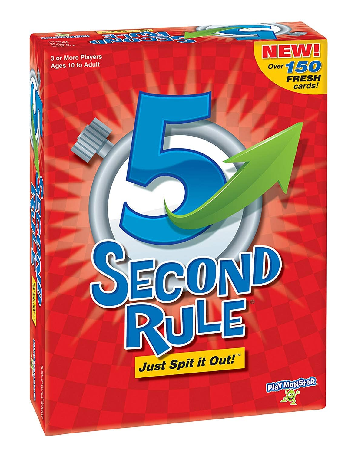 PlayMonster 5 Second Rule Game - New Edition $7.99, Uncensored $9.79 FS w/ Prime