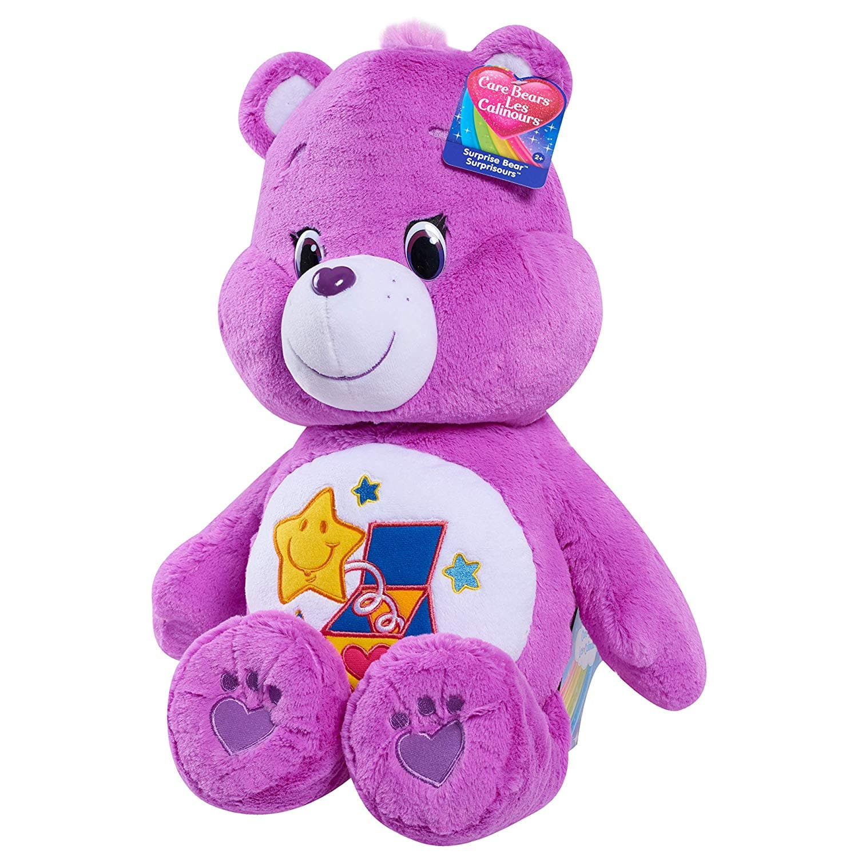 "Care Bears International 21"" Jumbo Plush: Surprise $11.35 FS w/ Prime"