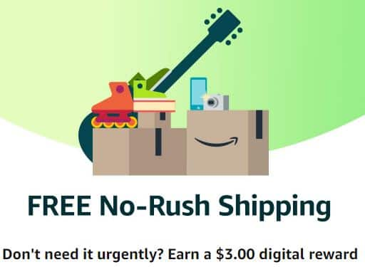 $3 Digital Credit w/ Free No-Rush Shipping on Items / Purchases $3.01+
