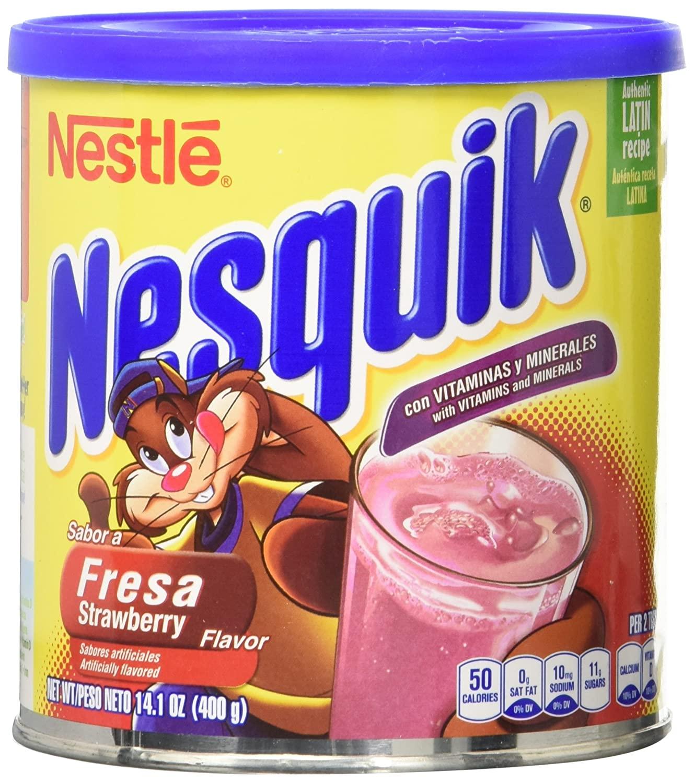 Nesquik Strawberry Flavored Powder 14.1oz $2.40 w/ S&S