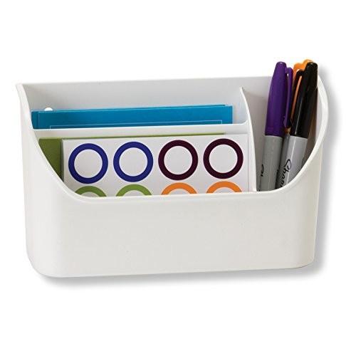 Officemate Magnet Plus Magnetic Organizer, White $2 FS w/ Prime