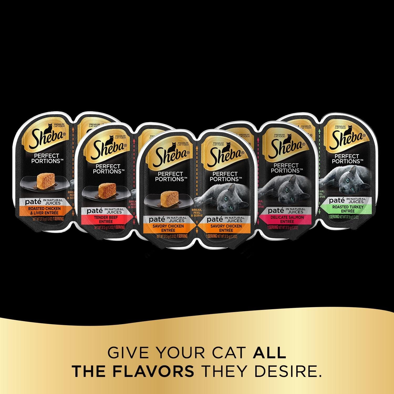 Select Amazon Accounts: Sheba Perfect Portions Wet Cat Food Trays 24-Pack 2.6oz (48 Servings) Various Flavors $7.78 & More FS w/ S&S