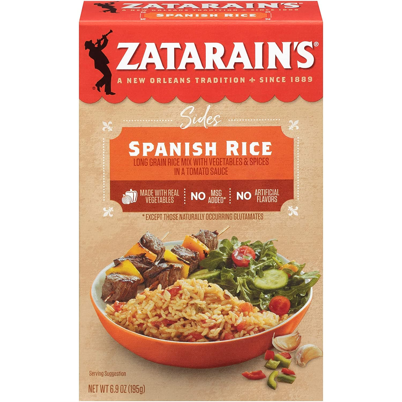 Zatarain's Spanish Rice, 6.9 oz $1.08 FS w/ S&S