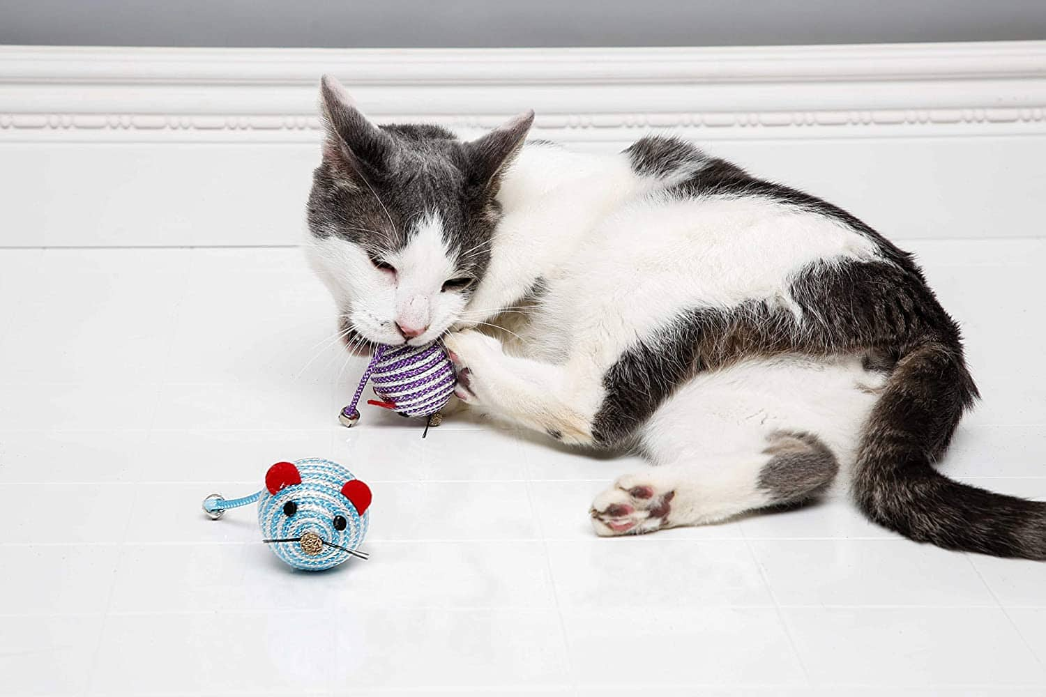 Hartz Cattraction Silver Vine & Catnip Cat Toys: Bell Mouse $1.97 FS w/ Prime