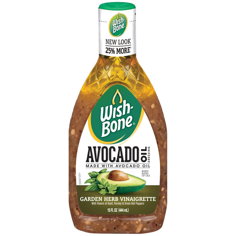 Wish-Bone Avocado Oil Blend Garden Herb Vinaigrette Dressing, 15 FL OZ $1.50 or less - FS w/ prime