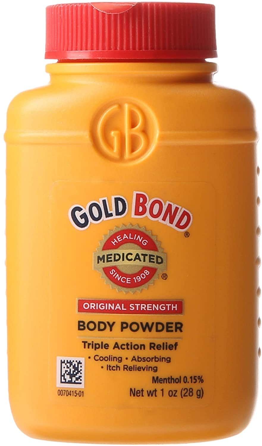 Gold Bond Original Strength Medicated Body Powder 1-Ounce $0.92 or less - FS w/ S&S