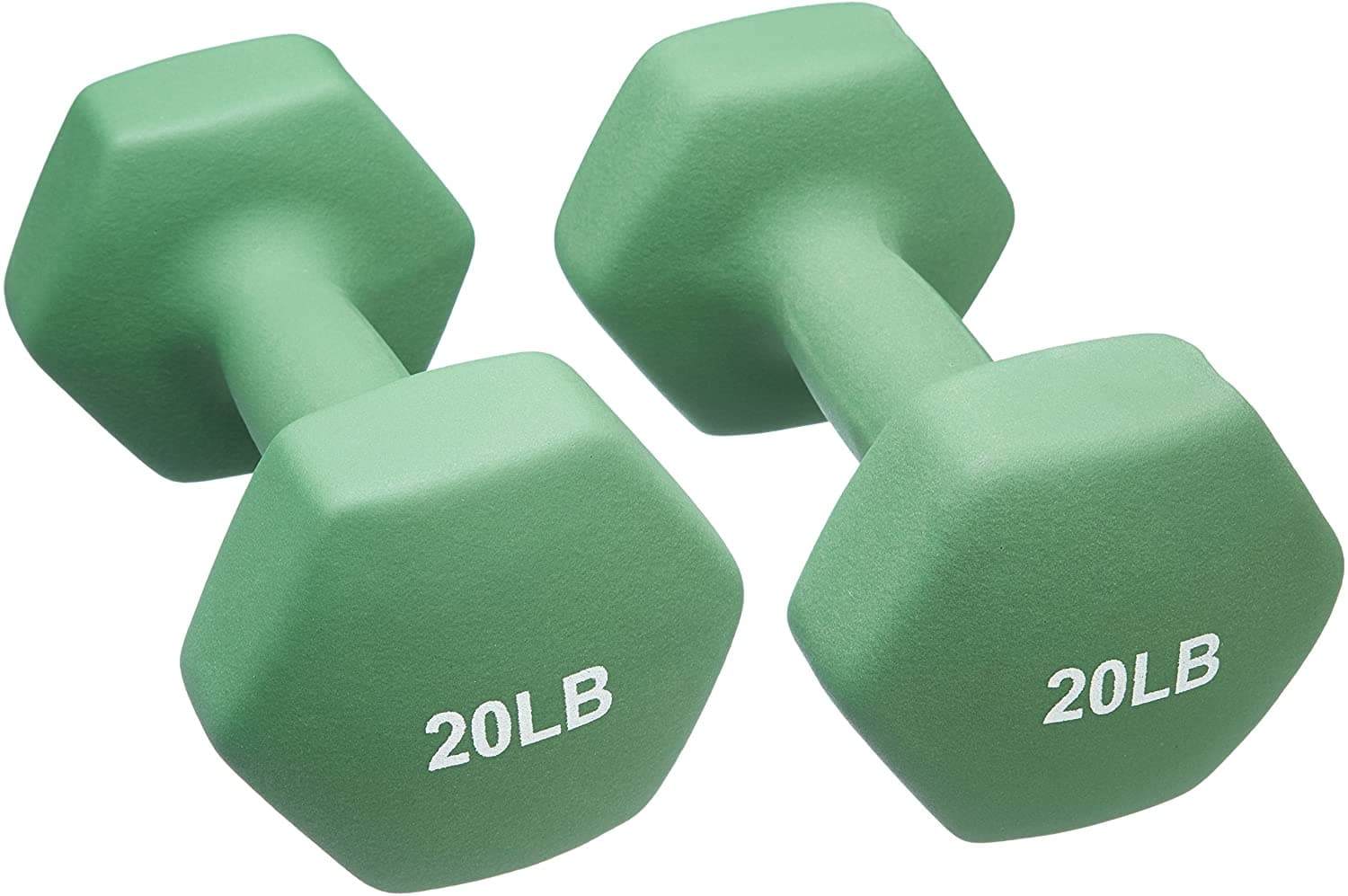AmazonBasics Exercise Weights: Pair of 20lb Dumbells $53.49, 60lb Kettlebell $69.99 & Many More - FS w/ Prime
