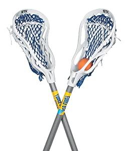 STX FiddleSTX Two Pack Mini Super Power Lacrosse Sticks with Ball, 30-Inch - $17 - FS w/ Prime