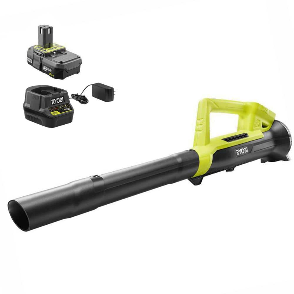 RYOBI ONE+ 18 Volt Lithium-Ion 200 CFM Leaf Blower + Battery + Charger (Reconditioned) $40 - Free Store Pickup DTFO