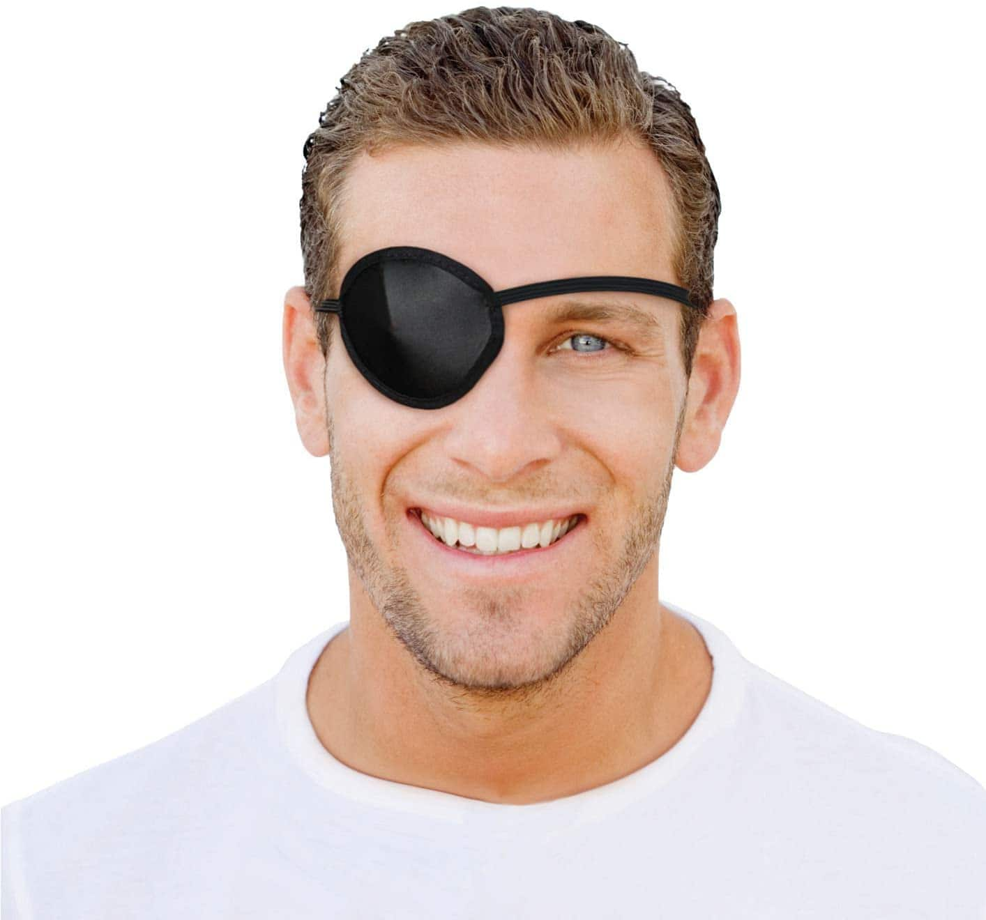 Flents Concave Eye Patch, Black (One Size) - $1.78 or less + FS w/ S&S