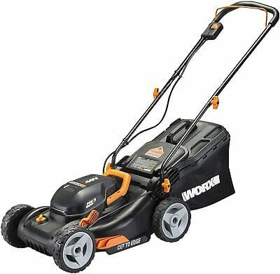 "WORX WG743 2X20V 17"" 4.0Ah Lawn Mower w/ Powershare  $235.20 after coupon, NEW, ebay"