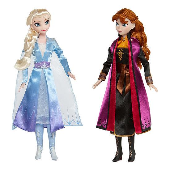 Disney Collection Frozen Elsa & Anna Doll Set $17 (50% off)