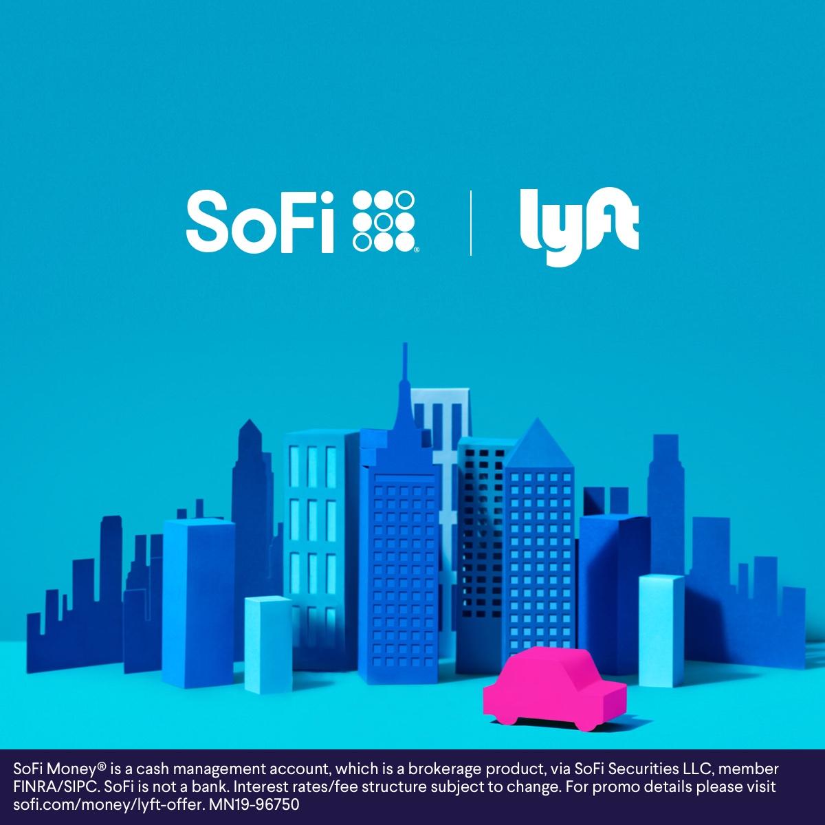 20% cashback on all Lyft Rides for SoFi members (through 2/18/2020)