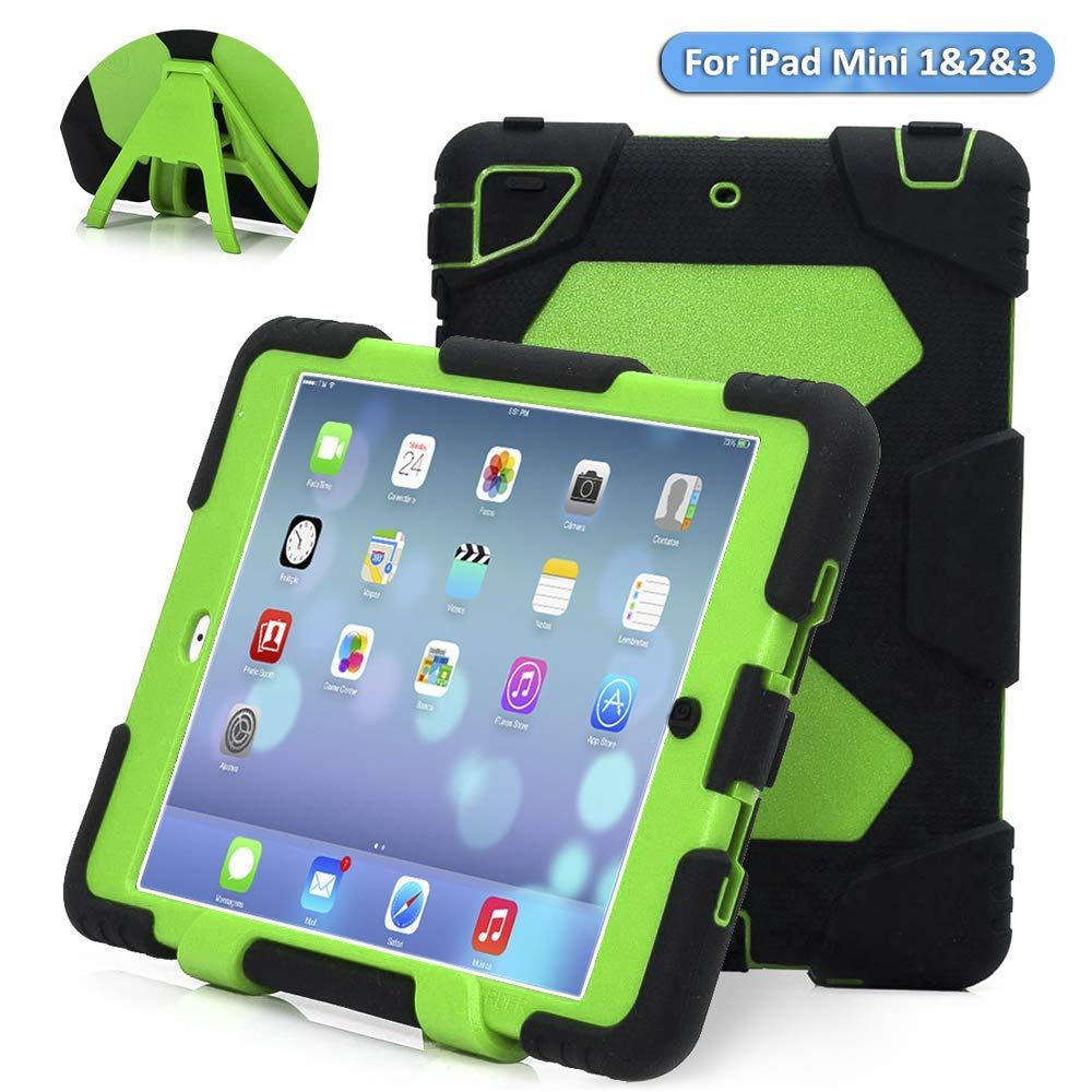 promo code 47154 b81ce ACEGUARDER Kids Case for iPad Mini 1 2 3 - Built-in Screen Protector ...