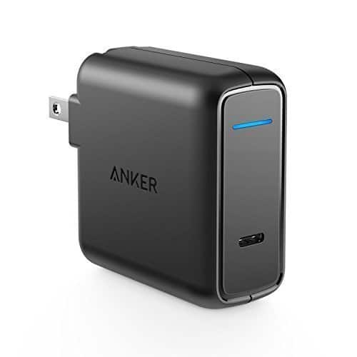 Anker USB Type-C with Power Delivery 30W USB Wall Charger $21.59