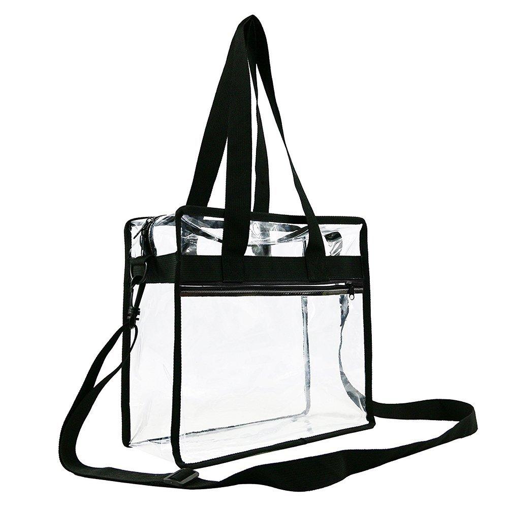 Amazon - Clear Stadium Compliant Tote Bag $1.80 + Tax ($17.00 Amazon Coupon)