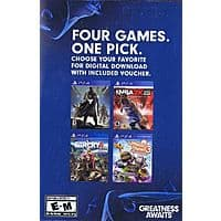 Pick 1 out of 4 Ps4 games for $26.95 Destiny NBA 2k15 Far Cry 4 Little Big Planet 3