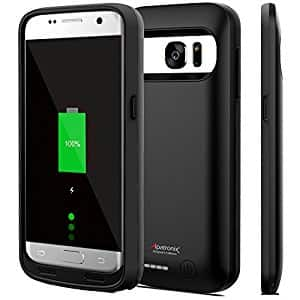 Alpatronix BX420 Battery Charging Case for Galaxy S7 - Black - $27.65