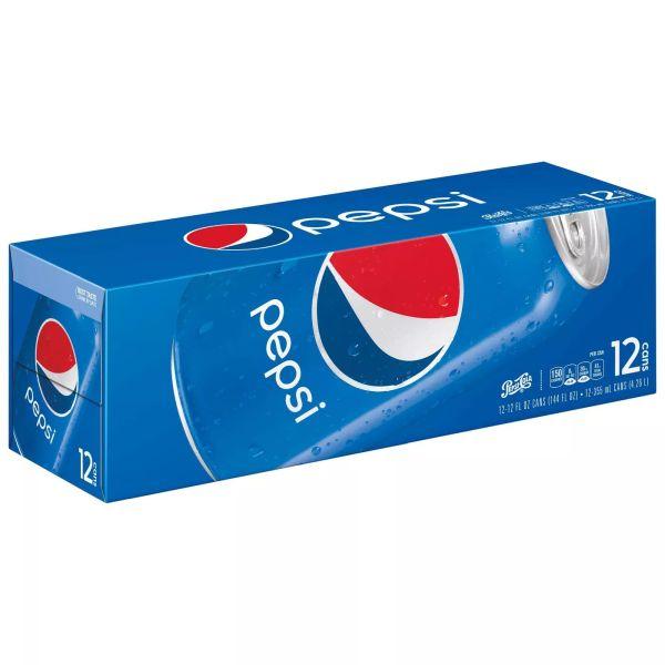 Six Pepsi 12 packs + $5 Target gift card for $21 (YMMV)