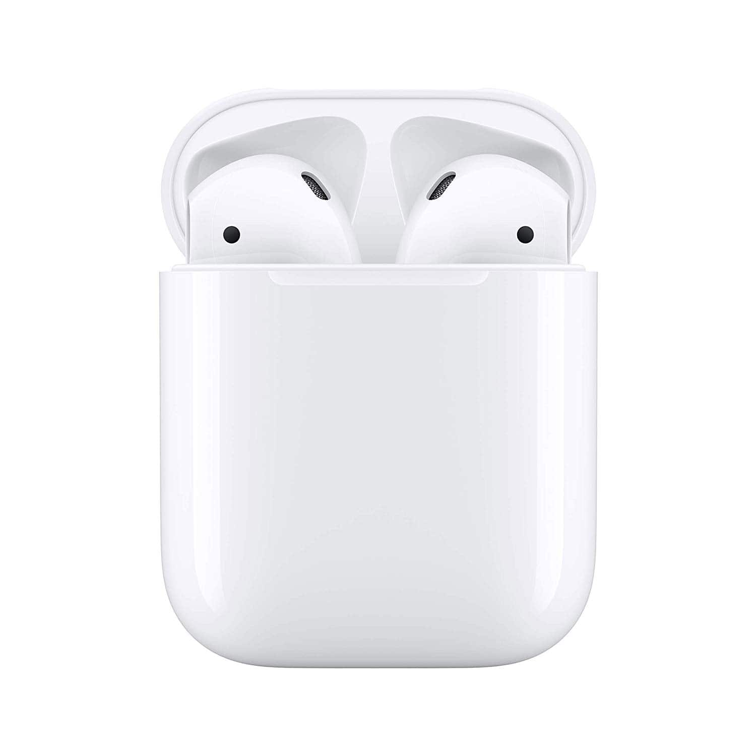 Amazon- Apple AirPods with Charging Case- $98.57 at checkout- Used/Like New