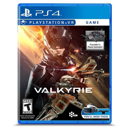 IN-STORE - select PlayStation VR games 30% off Target Cartwheel, EVE Valkyrie, RIGS, Farpoint, starting at $19.99