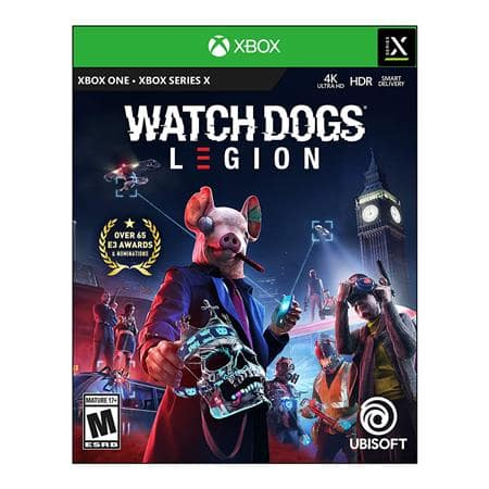 Watch Dogs: Legion Standard Edition for Xbox One $20 + free s/h at Adorama