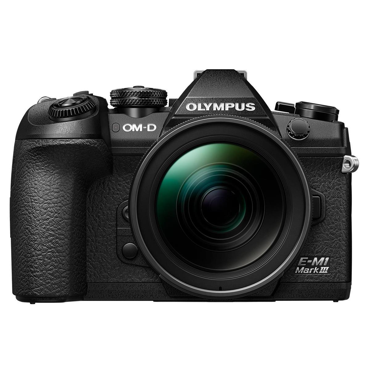 (open box) Olympus OM-D E-M1 Mark III Mirrorless Digital Camera with M.Zuiko Digital ED 12-100mm f/4 IS PRO Lens $2199 + free s.g at Adorama