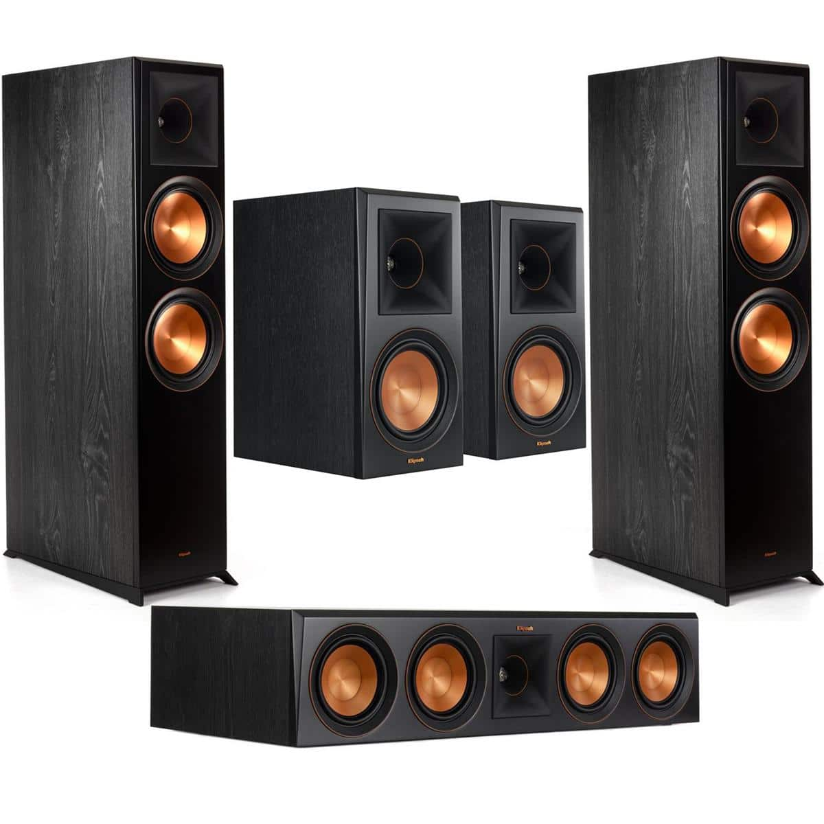 Klipsch Reference Premiere Speakers:2x RP-8060FA + 2x RP-600M + RP-504C $1799 + free s/h at Adorama