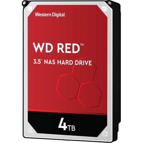 "4TB WD Red SATA III 3.5"" NAS Hard Drive $70 + free  s/h at BH Photo"