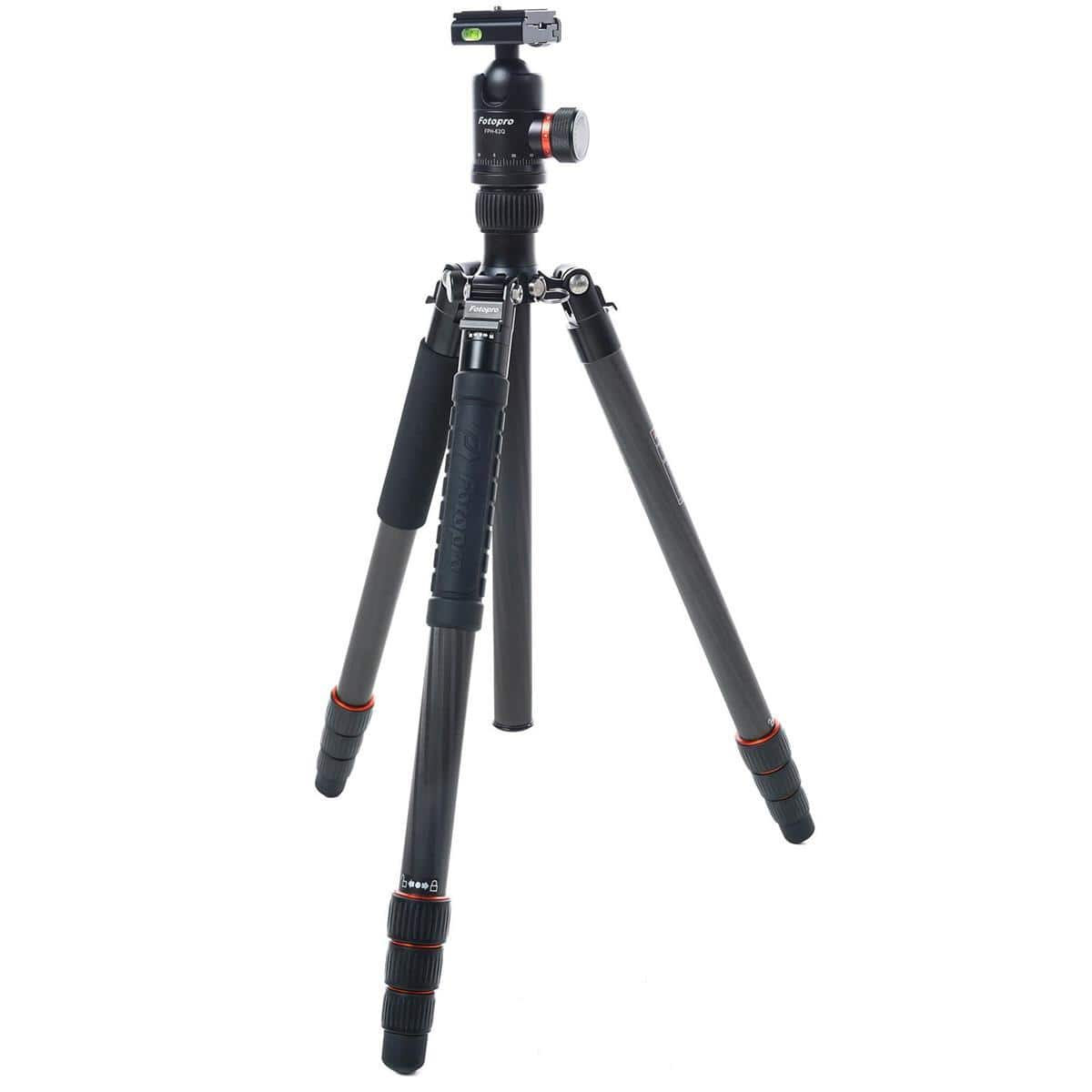 FotoPro X-Go Max 4-Section Carbon Fiber Tripod with Built-In Monopod $140 + free s/h at Adorama