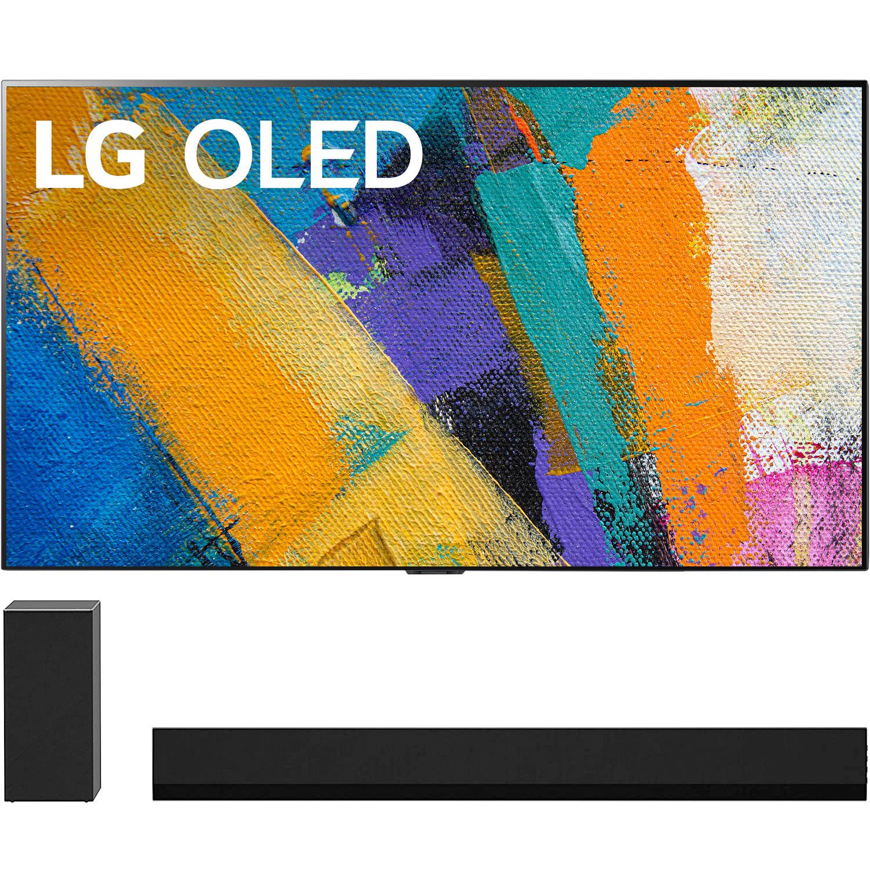 "LG OLED 4K TV's w/ GX 3.1ch Dolby Atmos Soundbar"" 65"" OLED65GXPUA $2199, 77"" OLED77GXPUA $3299 (less w/ SD Cashback) + free s/h at Buydig"