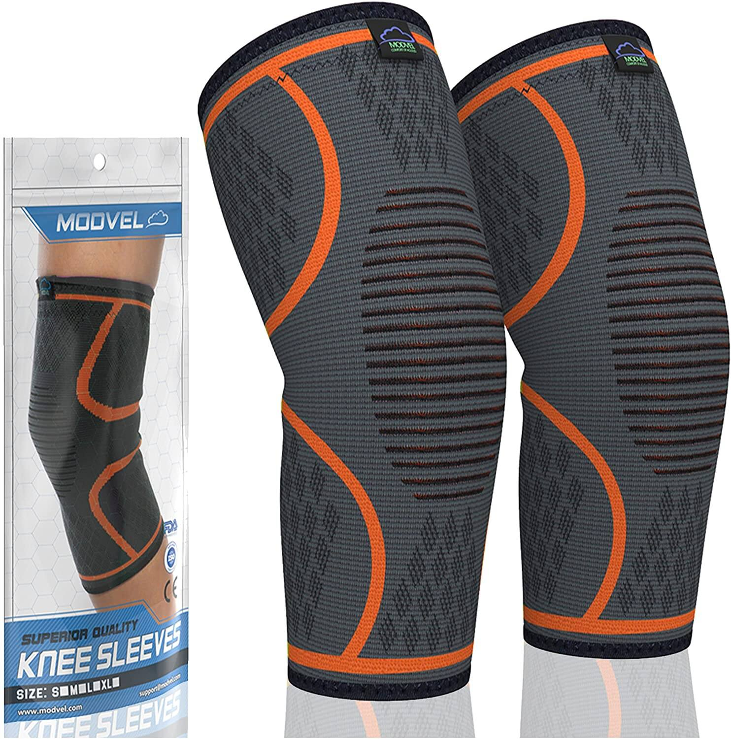 Modvel Compression Knee and Ankle Sleeves: Knee from $9.71, Ankle $10.40 at Amazon $9.83