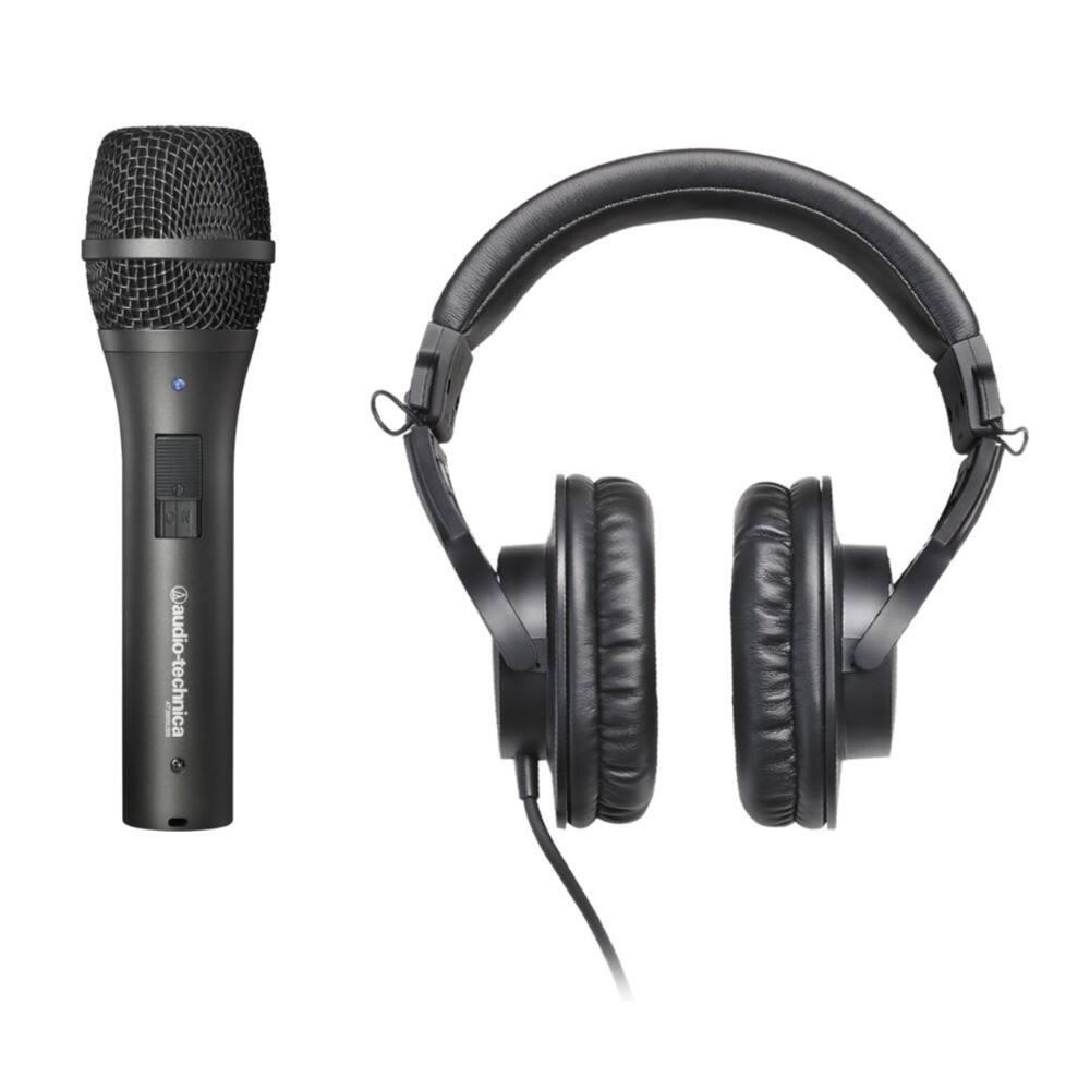 Audio-Technica AT2005USB USB/XLR Mic + ATH-M20x Headphones $80 + free s/h (less w/ SD Cashback) at Focus Camera