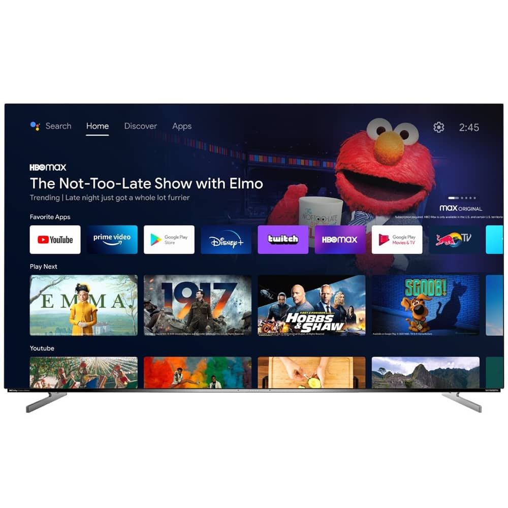 """Skyworth XC9000 Series 4K OLED Android TV's: 65"""" $1299, 55"""" $949 + Free S/H (less w/ SD cashback) at Buydig"""