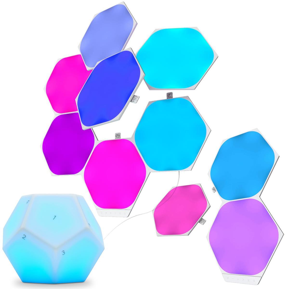 Nanoleaf Shapes Hexagons Smarter Kit: 7 Panels + Exp Pack w/ 3 Panels + Nanoleaf Remote $230 + free s/h at Adorama