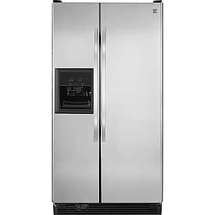 Kenmore 25.1 cu. ft. Side-by-Side Refrigerator w/ Ice & Water Dispenser $800 + Free delivery