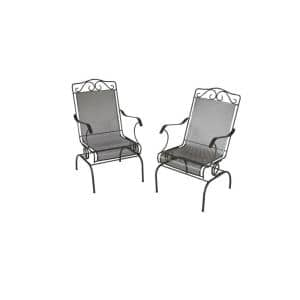 Wrought Iron Patio Chairs set of 2 for $52 + free shipping