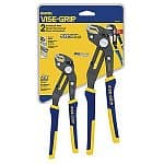 "2-Pc. Irwin GrooveLock 8"" & 10"" Pliers Set"