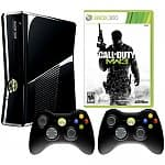 4GB Xbox 360 Console + Bonus Controller + Bonus Game (Elder Scrolls V: Skyrim, Call of Duty: Modern Warfare 3, & More)