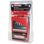 21-piece Craftsman Drill Bit Set (Black Oxide)