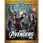 Marvel's The Avengers Four-Disc Combo: 3D Blu-ray + Blu-ray + DVD & More